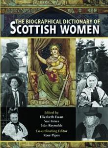 The Biographical Dictionary of Scottish Women (cover)
