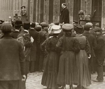 Mary Maloney disrupting churchill 6 May 1908