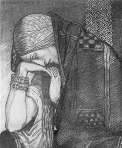 1 Sketch for Deirdire by John Duncan, ca. 1905