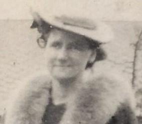 Margaret McCann c 1945 head and shoulders