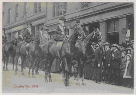 Gude Cause March in Edinburgh, 1909
